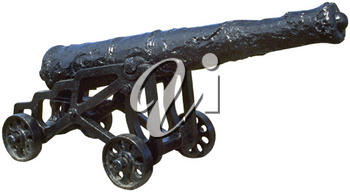 Royalty Free Photo of a Diecast Cannon