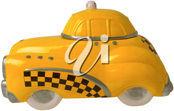 Royalty Free Photo of a Toy Taxi
