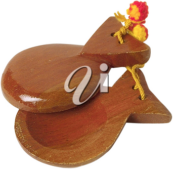 Royalty Free Photo of Castanets