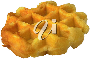 Royalty Free Photo of a Waffle
