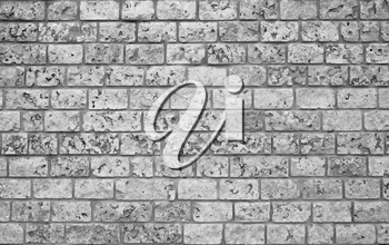 Bricks old wall. Rough wallpaper vintage background