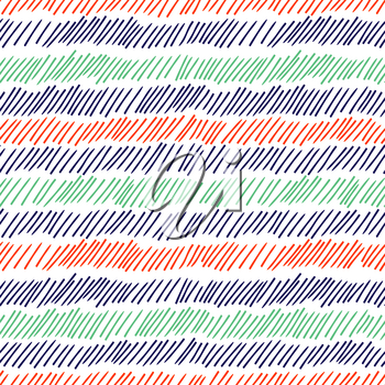 Hatching seamless pattern. Pencil drawn lines vector background grunge effect. Illustration seamless pattern hatching, graphic modern stroke scribble