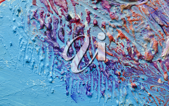 Acrylic abstract painting texture. Abstract color background.