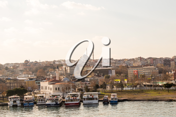 A view of from the  Golden Horn of Istanbul