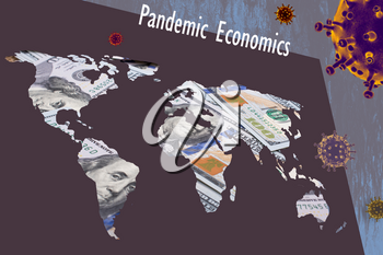 Concept of  the financing and financial funding of pandemic crisis