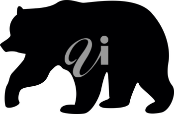 Bear it is black color icon .
