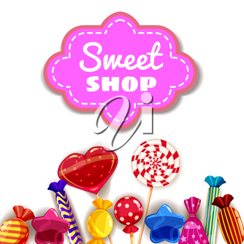 Candy Sweet Shop background set of different colors of candy, candy, sweets, candy, jelly beans