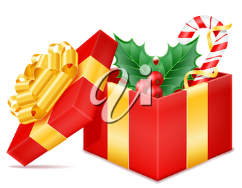 christmas presents stock vector illustration isolated isolated on background