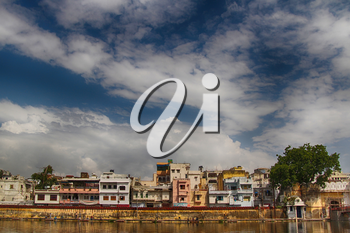 Cityscape of Udaipur city in Rajasthan, north of India.